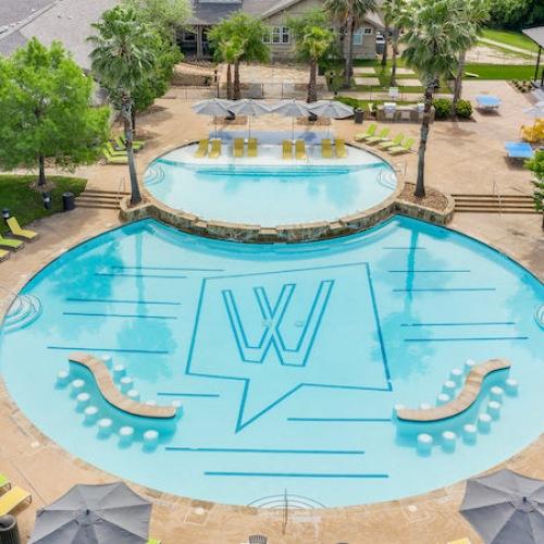Pool Ariel View